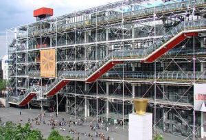 Exterior Pompidou - París