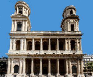 Fachada de Saint Sulpice - París
