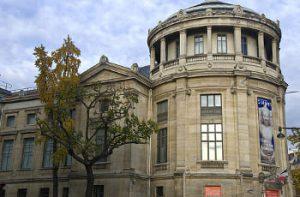Fachada museo Guimet - París