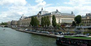 Museo Orsay y río Sena - París