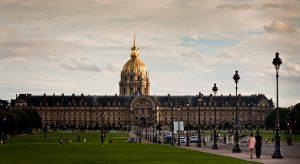 Exterior del Palacio de Los Inválidos - París