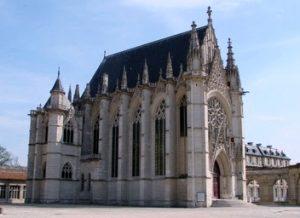 Fachada de la Sainte Chapelle de París