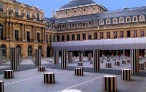Exterior Palacio Real de París