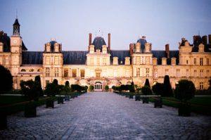 Vistas del Castillo de Fontainebleau