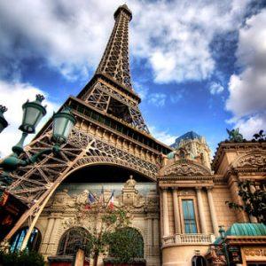 Vistas Torre Eiffel desde la base
